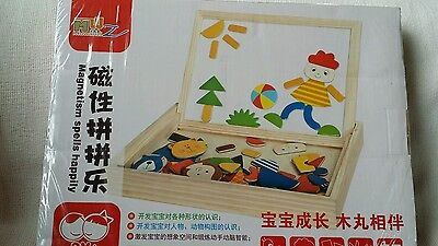 Magnetic board Math Shapes Pictures Ages 3+