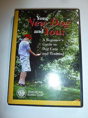 AKC Your New Dog and You DVD beginner dog care & training guide video pet how-to