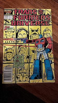 Transformers Universe #2, 3 & 4 (1987 Marvel)