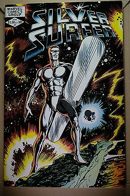 """Silver Surfer"" by Stan Lee 1982 Vol.2 No.1"
