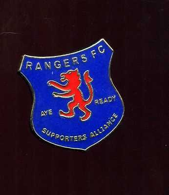 Glasgow Rangers  Supporters club Pin Badge