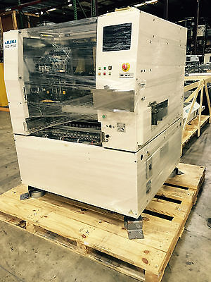 Juki KE750 Pick and place machine with 20 feeders ( 8mm and 12mm)