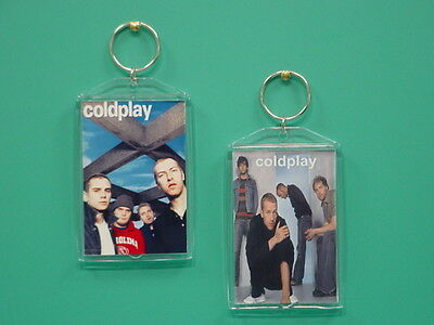 COLDPLAY - with 2 Photos - Designer Collectible GIFT Keychain