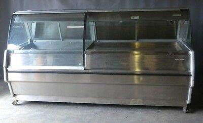 Used Alto-Shaam TYSYS-98/4R Curved Glass Hot Food Case, Excellent Free Shipping!