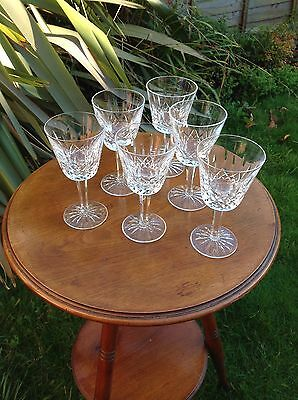 Waterford Lismore Wine Glasses Set of 6