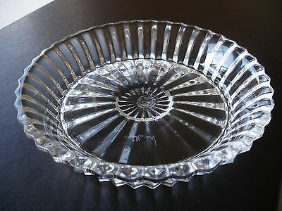 Baccarat Mille Nuits Cut Crystal Wine / Champagne Coaster Signed By Mathias