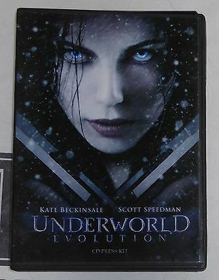 Underworld Evolution Movie Press Kit DVD CD w/ Production Notes Kate Beckinsale