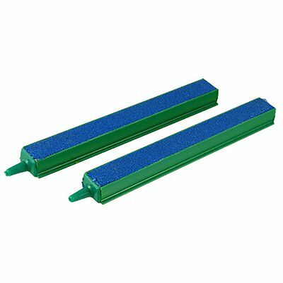 "Aquarium etangs vert Sortie 6"" Blue Air Pierre barre 2 Pcs WT"