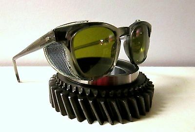 Vintage NOS American Optical Safety Sunglasses Goggles Spectacles AO STEAMPUNK