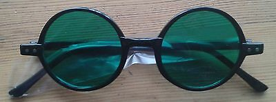 Wicked the Musical 'One Short Day' green glasses, new and unworn