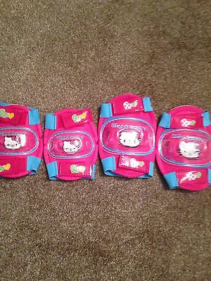 Hello Kitty Knee And Elbow Pads Bnwt