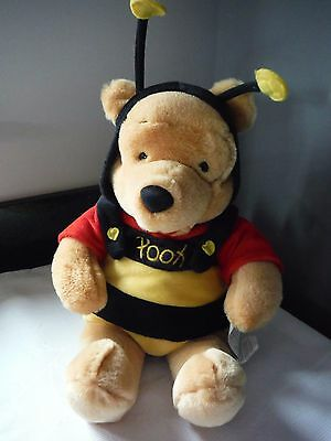 Winnie the Pooh as a Bee Plush Disney Collectable Bear