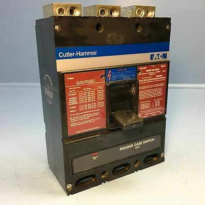 Cutler-Hammer LS36060YE 600A Molded Case Switch Type LSYE L Frame Eaton 600 Amp