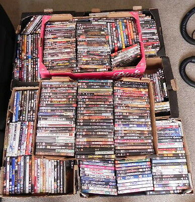 job lot of approx 400 DVD's (all different) region 2 COLLECTION ONLY