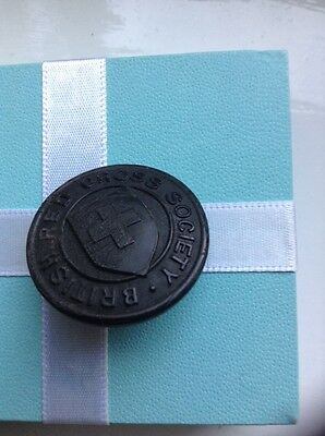 Old British Red Cross Society Button