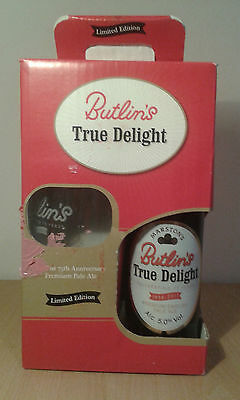 Limited Edition Butlins Ale and Glass 2011 NRFB