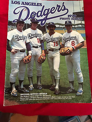 1979 Los Angeles Dodgers Photo Album Garvey Cey Lopes Russell Free Shipping!