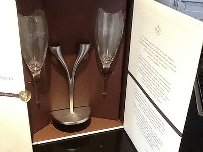 Moet Chandon Champagne flutes new and boxed