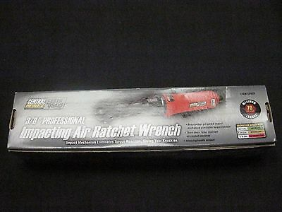 CENTRAL 68426 3/8 in. Professional Impact Air Ratchet Wrench NEW