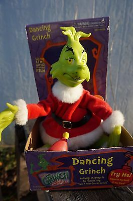 How The Grinch Stole Christmas ~ Dancing Grinch ~ Sound & Motion by GEMMY