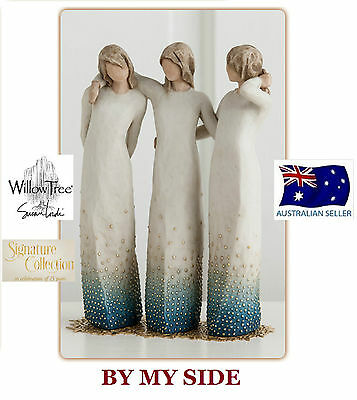 BY MY SIDE Demdaco Willow Tree Figurine By Susan Lordi  BRAND NEW IN BOX