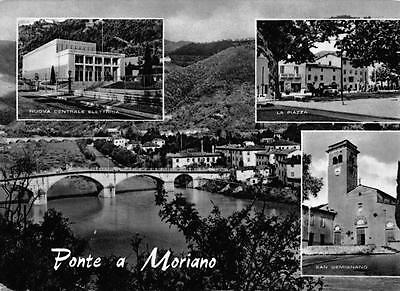 Vintage 1960 B&W Postcard Ponte a Moriano Lucca Italy SUPERB CDS Cancel