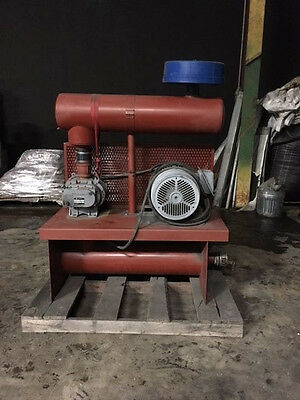 Sutorbilt Positive Displacement Blower 4MP 14HP w/ Muffler ONLY USED ONCE!