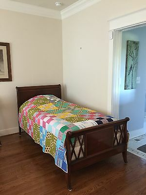 2  Antique Cherry TWIN BEDS