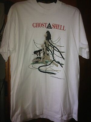 Rare Vintage 1995 Ghost in the Shell shirt sz L VHTF!