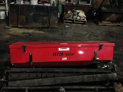 1st First Products Seeda-Vator Electric Seeder 5ft Wide w/ Roller Never Used