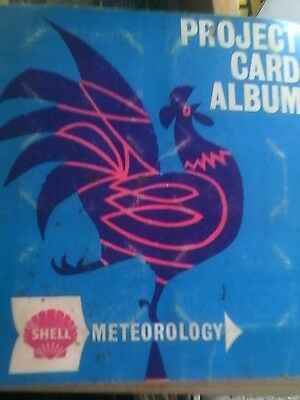 Shell Project Card Album Complete Set Meteorology