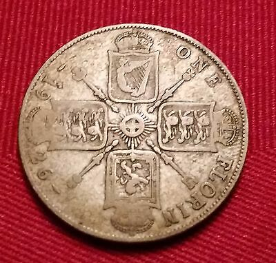 1926 British George IV 1 Florin Silver Coin