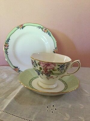 Royal Albert Hartington Cup, Saucer, Plate Made In England As New