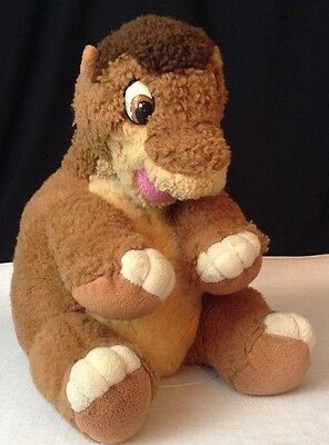 """Vintage 1988 Gund """"The Land Before Time"""" LittleFoot Dino Plush Lg 17""""  JcPenny's"""