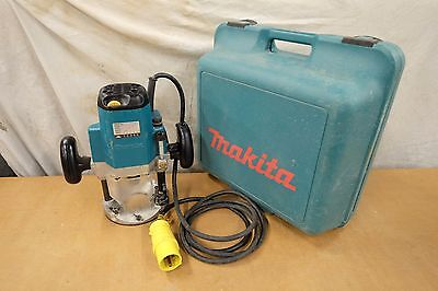 MAKITA 3612C ROUTER 110 VOLT 1850 WATTS 13mm COLLET SIZE VARIABLE SPEED SRA 3