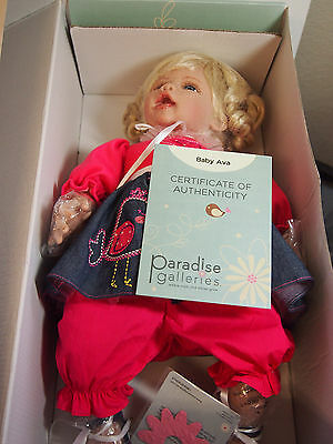 Paradise galleries Baby Ava with COA