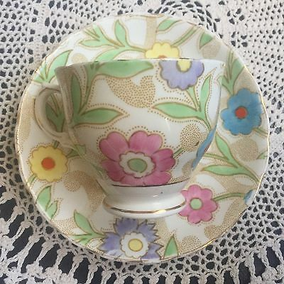 Tuscan Floral Chintz Duo Cup And Saucer