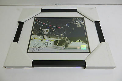 Evgeni Malkin Signed Frameworth COA Pittsburgh Penguins 8x10 Framed