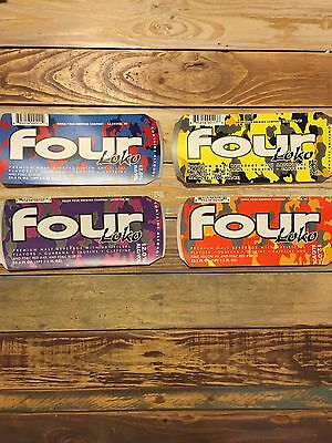 Set of 7 Different Four Loko Stickers With Banned Ingredients