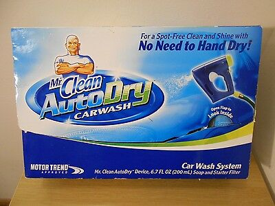 New Mr Clean Auto Dry Car Wash System Cleaning Detail Motor Trend