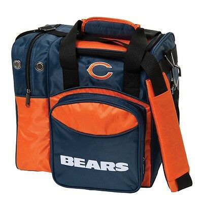 NFL Chicago BEARS 1 BAll Bowling Bag New Syle