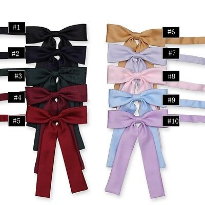 Japanese School Girls Solid Bow Tie Cosplay Props  JK Uniforms Students Bowknot