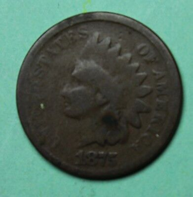 1875 Indian Head Penny (BL35-15)