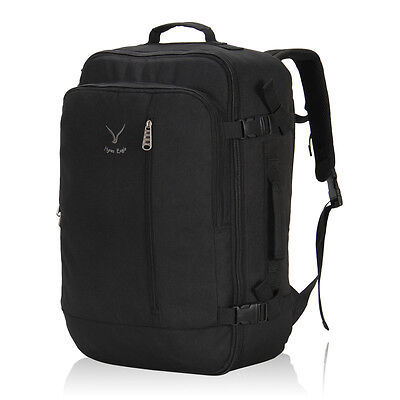 Travel Flight Backpack Cabin Approved Carry-on Suitcase Convertible Luggage 40L