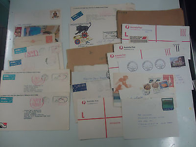 AUSTRALIA STAMP COVER COLLECTION x 150 COVERS - SEE DESCRIPTION