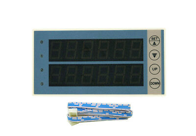 Red Dual Row LED Display For PLC Module FX1N-10MT FX1N-14MR