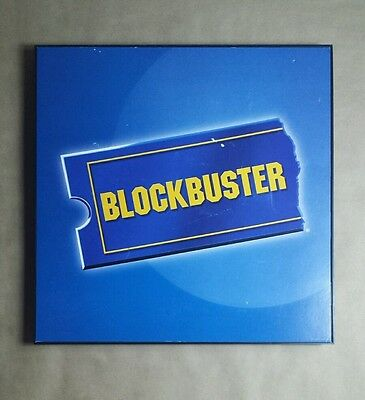 Blockbuster Video Store Promotion Sign Rare Collectible