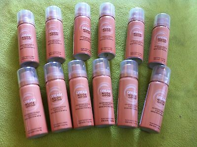 Bulk Lot Maybelline Dream Nude Foundation X 12...brand New