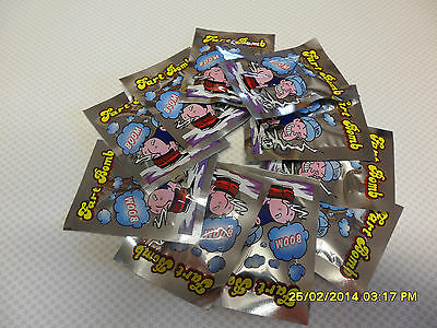 12 Fart Bombs Bags Very Smelly Novelty Stink Bombs Pranks  Tricks  Fart Whistle