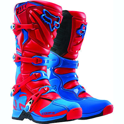 Fox Comp 5 2016 Adult Red MX Boots Dirtbike